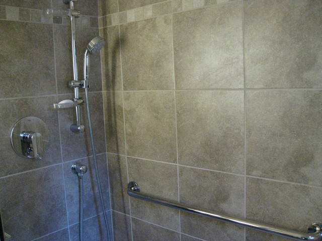 Hand Held Shower Head & Grab Bar - Bathroom - Seattle - by Mod ...