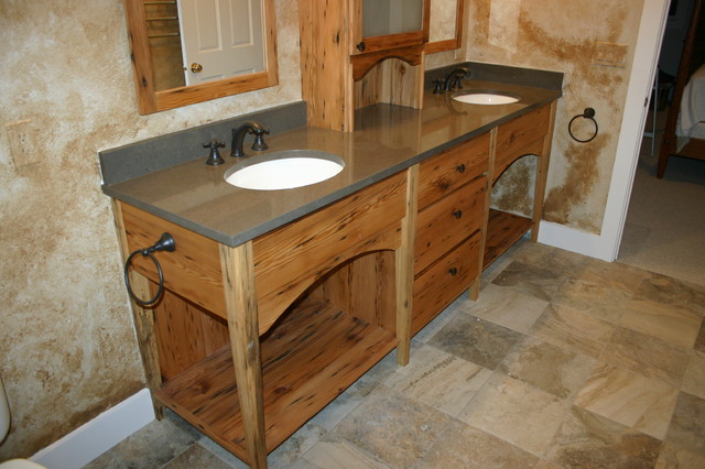 Hand Made Furniture Vanities Traditional Bathroom Boston By Dufour Design Llc