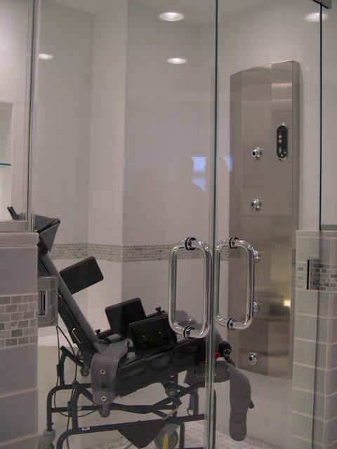 Handicap Accessible Bathroom Eclectic DC