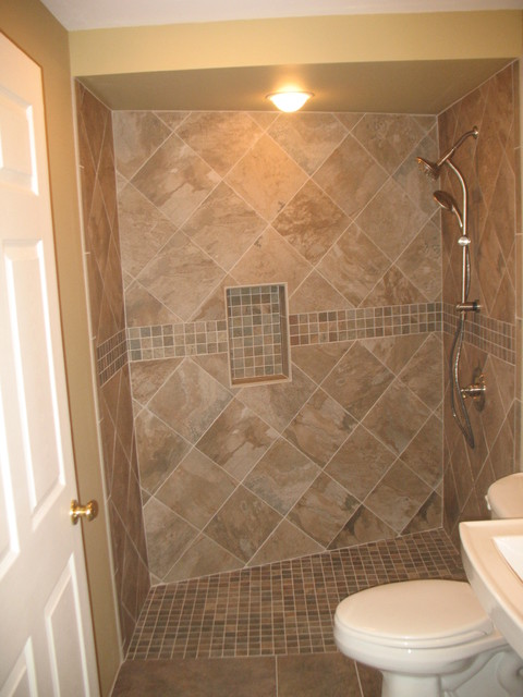 Handicap accessible shower for Handicapped accessible bathroom plans