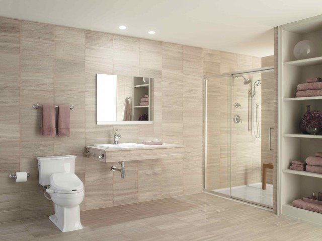 Handicapped Accessible & Universal Design Showers - Contemporary
