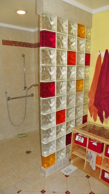 Handicapped Accessible & Universal Design Showers bathroom