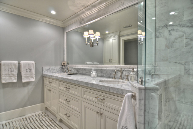 Harbor View Traditional Bathroom Orange County By