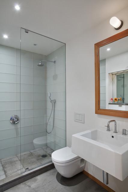 Harlem Residence Master Bath - Contemporary - Bathroom - new york - by Mabbott Seidel Architecture