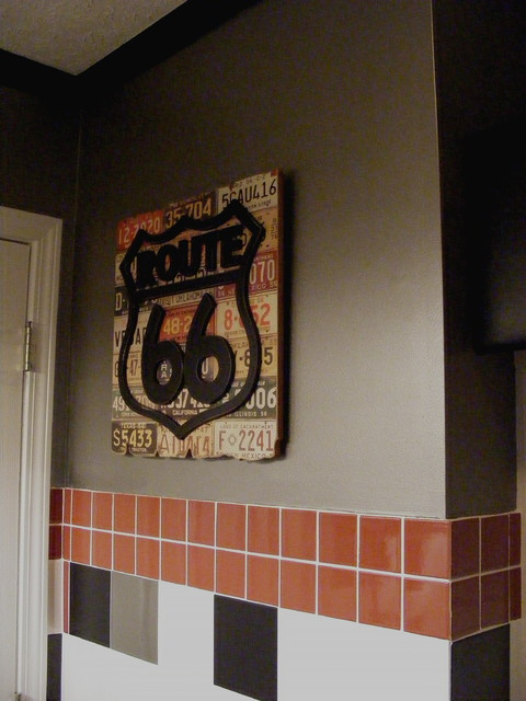 Harley Davidson Bathroom Traditional Bathroom