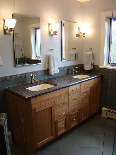 Harpswell Master Bath Craftsman Bathroom Portland Maine By Robin Amorello Ckd Caps