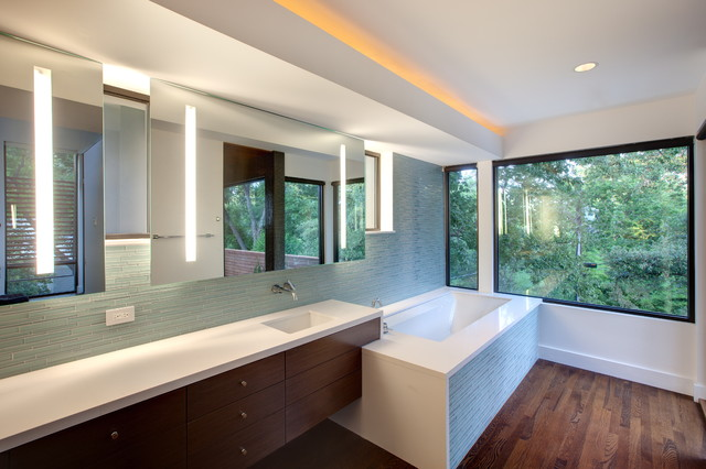 Harris Master Bath modern bathroom