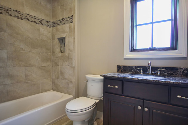 Harrod 39 s glen traditional bathroom louisville by robbins architecture for Bathroom mirrors louisville ky