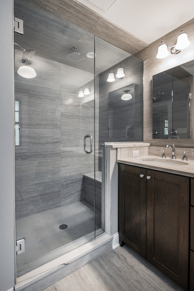 Hartford | Renovation - Transitional - Bathroom - Columbus ...