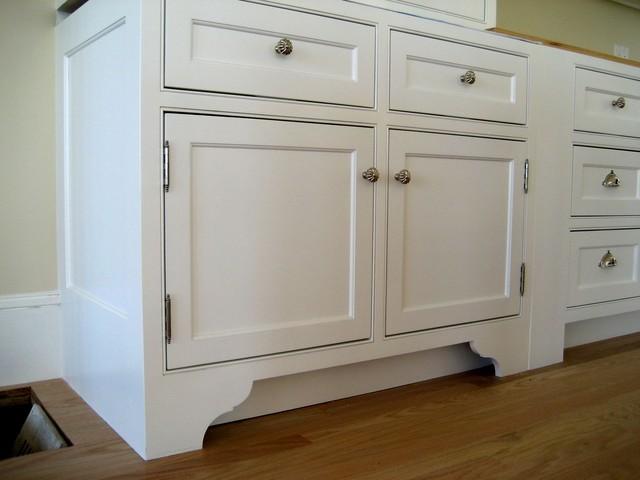 Harvard Ma Custom Build Frame To Finish Traditional Bathroom
