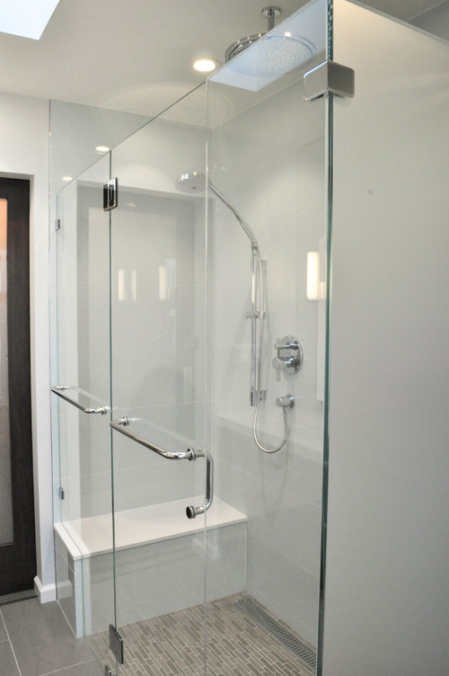 How Much Did The Glass Shower Walls Cost, And How Sturdy Are They?