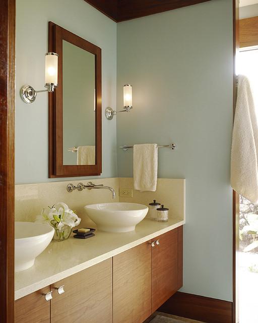 Hawaii Residence tropical-bathroom