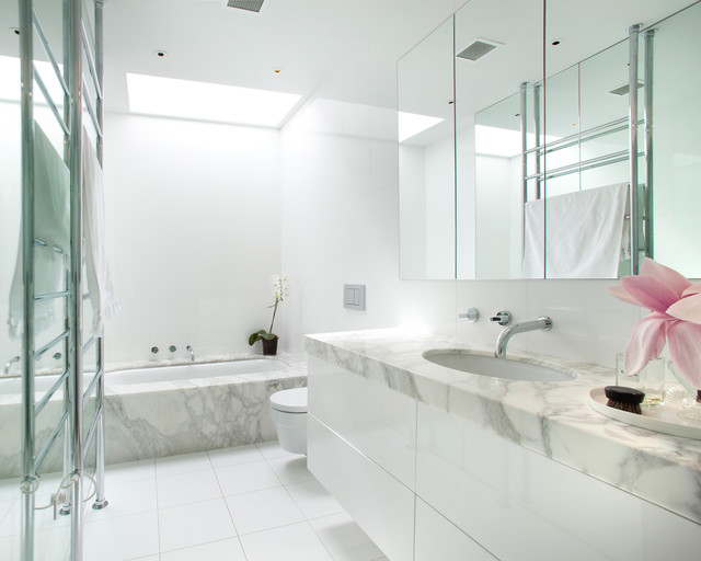 Hawthorn Home Contemporary Bathroom Melbourne By