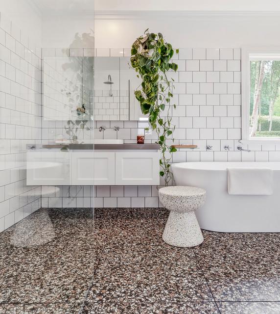 Hawthorn Magic Of Terrazzo Contemporary Bathroom