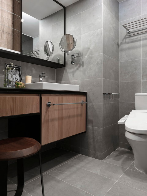 HDB 4-Room at Woodlands by SpaceArt - Bathroom Design ...