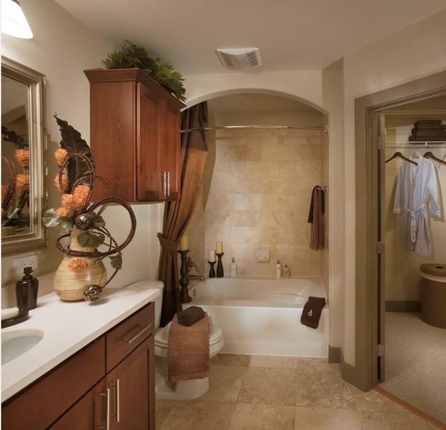 Hdc Thorntree Slate Bathroom Houston By The Houston Design Center