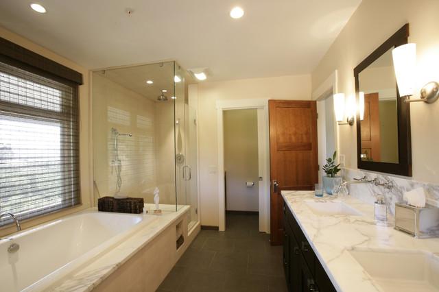 Healdsburg Master bath contemporary-bathroom