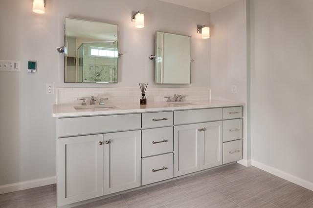 Heated Flooring Transitional Bathroom Philadelphia By Custom Craft Contractors Inc