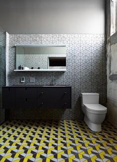 Heath Ceramics Tile Inspiration - Contemporary - Bathroom