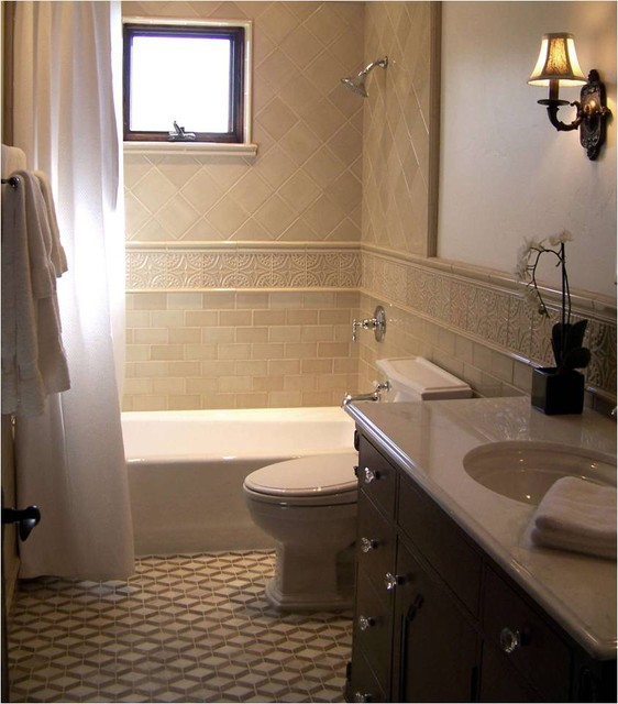 Heather Moe Traditional Bathroom San Diego By