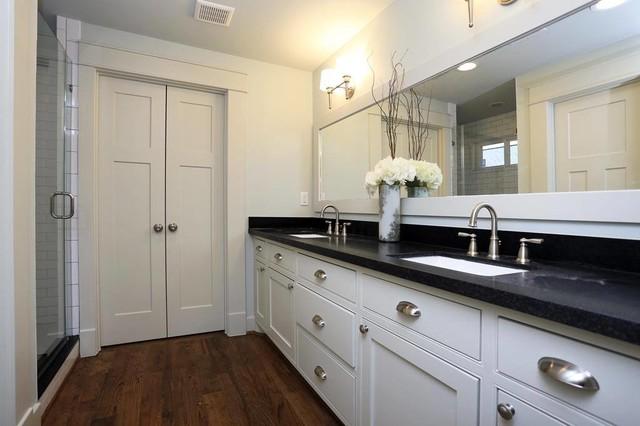 Heights Bungalow Remodel Craftsman Bathroom Houston