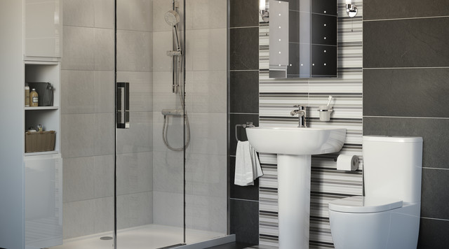 helena ensuite with carmony shower contemporary. Black Bedroom Furniture Sets. Home Design Ideas