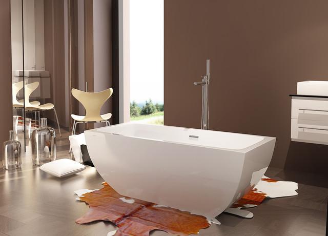 helix bath's line of freestanding bathtubs - modern - bathroom