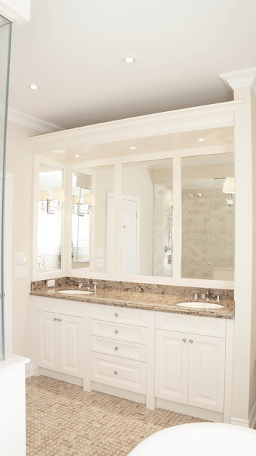 Hemmford drive ensuite bathroom toronto by oakville for 8x7 bathroom ideas