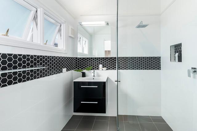 Henderson Street contemporary-bathroom