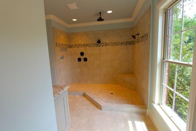 Hendersonville rancher craftsman bathroom nashville for Wallace custom homes