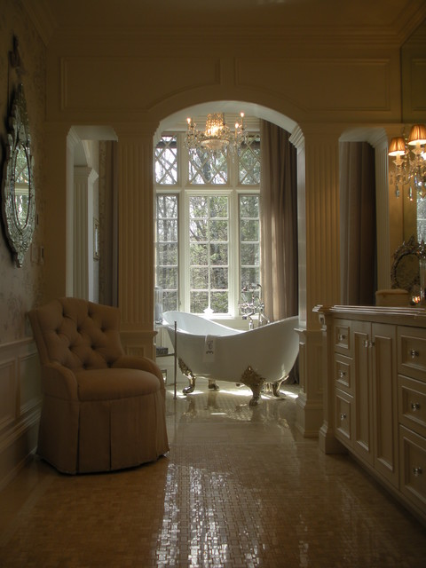 Her Bathoom traditional-bathroom
