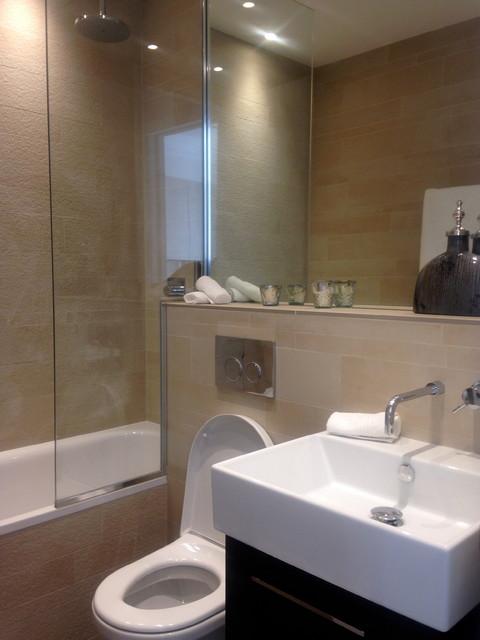 Bathroom Design Hereford : Hereford road w contemporary bathroom london by