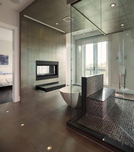 Heritage Home Renovation contemporary-bathroom
