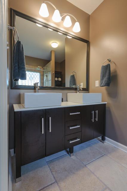 Hermitage Bathroom Remodel Contemporary Bathroom