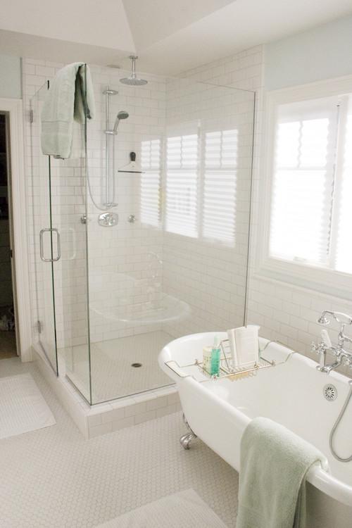 Is the hexagon tile matte or glossy thanks for Matte bathroom tiles