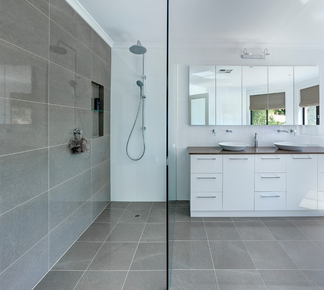 Cool  Retreat Bathroom  Modern  Bathroom  Adelaide  By Brilliant SA