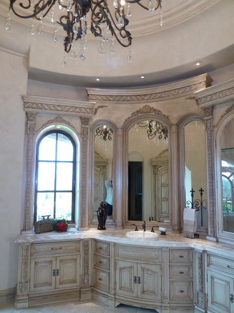 High End & Luxurious Bathrooms Built By Fratantoni Luxury Estates mediterranean-bathroom