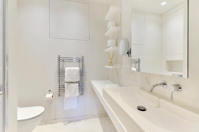 High end apartment in south kensington london for High end modern bathrooms