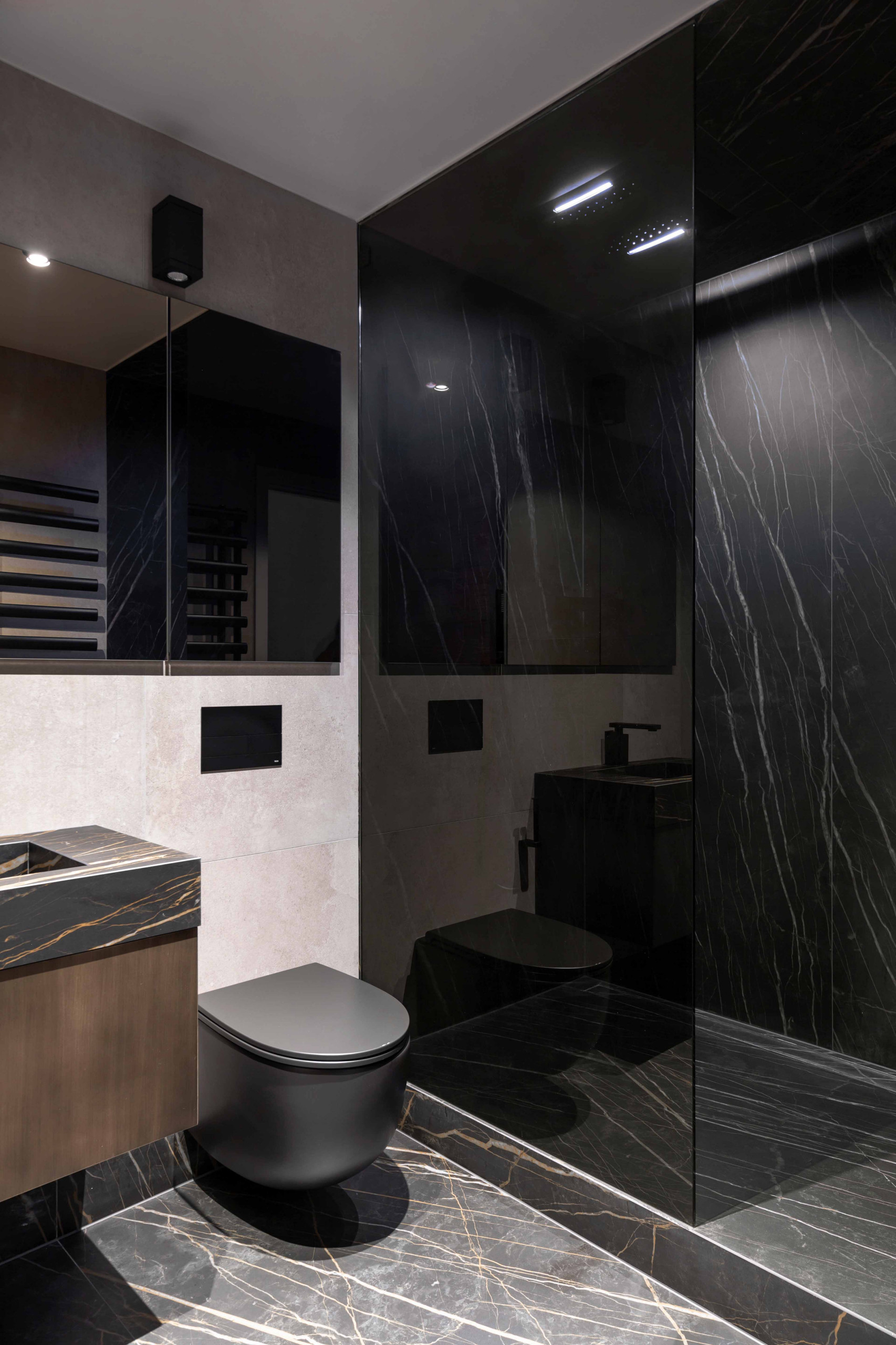 High End Master Bathroom