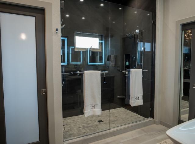 high end modern bath