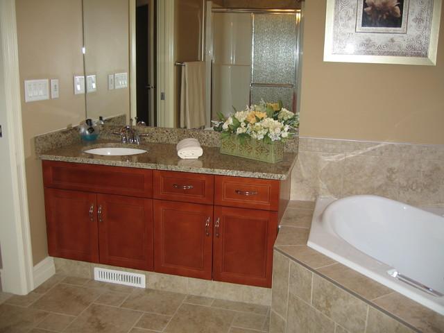 High End Residential Scott Traditional Bathroom Edmonton By Edmonton Kitchen Bath