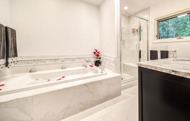 High end spa bathroom design contemporary bathroom for High end modern bathrooms