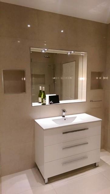 High Gloss Modern Bathroom Dublin By Kiwi Complete Bathrooms Ltd