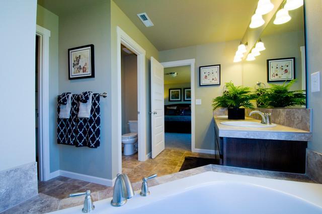 High Meadow Model Home traditional-bathroom