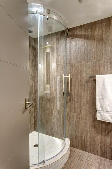 High Rise Condo Contemporary Look Contemporary Bathroom Seattle By Provanti Designs Inc