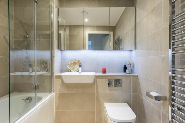extraordinary beige bathroom designs | High Rise Glamour