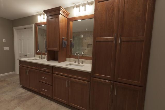 High-styled Traditional, Master Bath traditional-bathroom