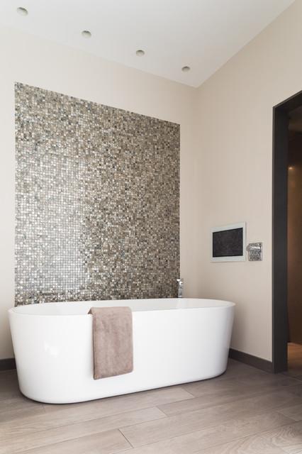 High Tech Haven Contemporary Bathroom West Midlands