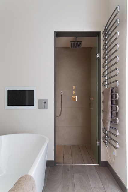 high tech haven contemporary bathroom west midlands