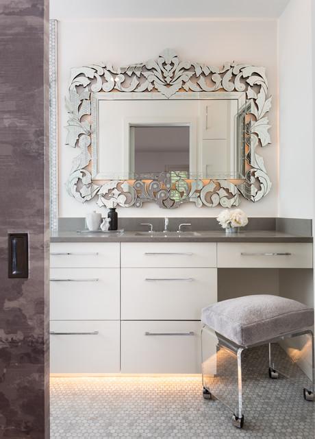 Highland Park Bathroom Remodel Contemporary